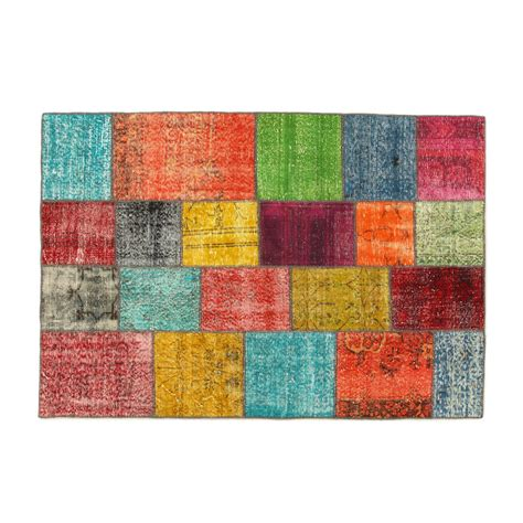Patchwork Products - large anatolian patchwork rug by amini lovethesign