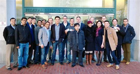 San Francisco State Mba Requirements by West Coast Wharton Emba Students Visit The Federal Reserve