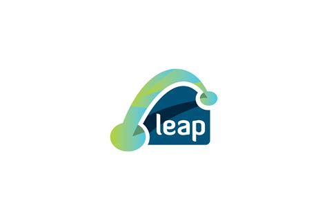 leap logo design logo cowboy