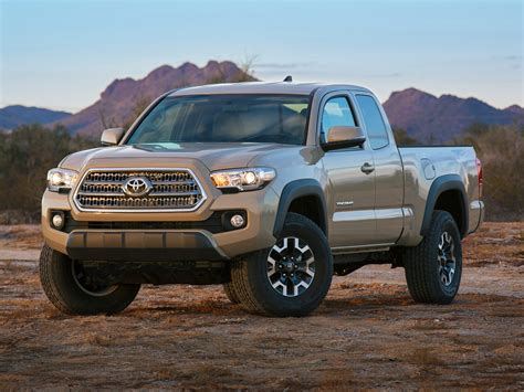 2016 Toyota Tacoma Prices 2016 Toyota Tacoma Price Photos Reviews Features
