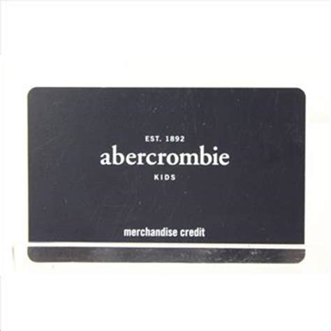 abercrombie kids 172 40 gift card property room - Abercrombie Kids Gift Card
