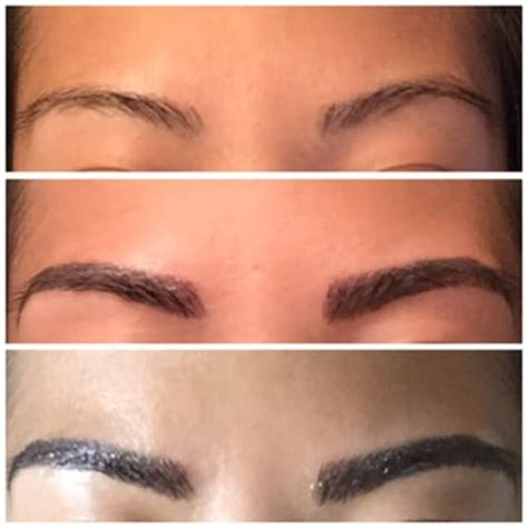 tattoo eyebrows dallas tx tina lee skin care new york ny united states before