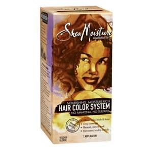 sheamoisture moisture rich ammonia free hair color system shea moisture nourishing moisture rich hair color system