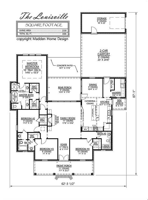 acadian style floor plans best 20 acadian house plans ideas on square