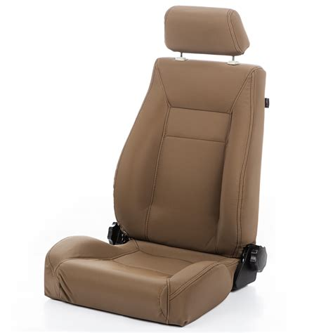 cj upholstery rugged ridge 13404 37 ultra front seat reclinable spice