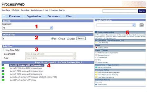 aris test scenario composer and aris process web aris