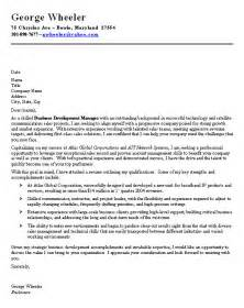 Exles Of Professional Cover Letters by Professional Cover Letter Sle