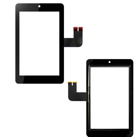 Touchscreen Asus Me173 K00b Ori for asus memo pad 7 me173 me173x k00b outer glass panel touch screen digitizer