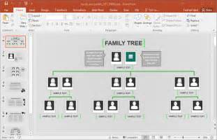 free family tree template powerpoint animated family tree powerpoint template