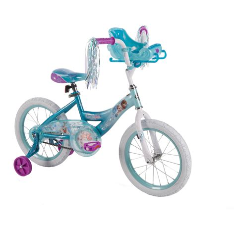 Toys R Us Bike Rack by 16 Huffy Girls Disney Frozen Bike Sleigh Doll Carrier