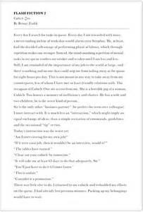Free Creative Writing Essay Exles by Creative Writing Sles Benjamin Zadik