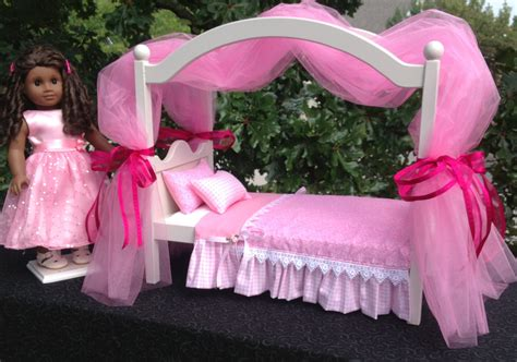 american girl doll canopy bed unavailable listing on etsy