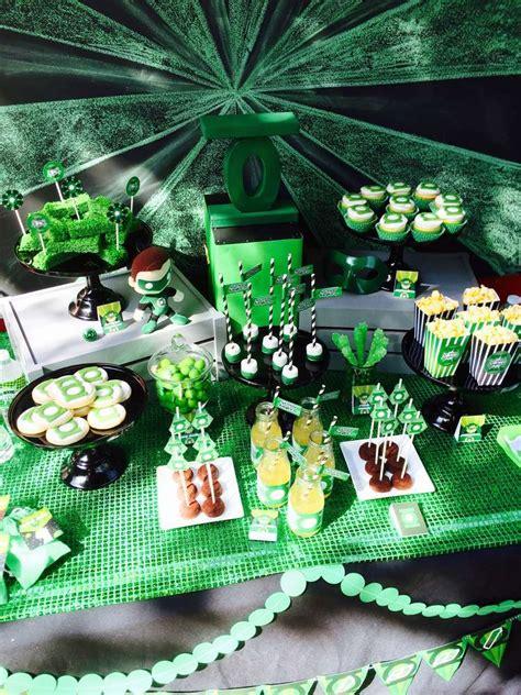 green lantern birthday ideas photo 1 of 29 catch my