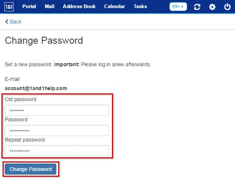 reset westpac online banking password change your e mail password in 1 1 webmail 1 1 help center