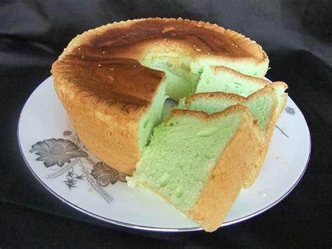 Cake Pandan pandan cake