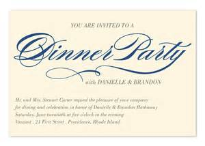 invited to dinner corporate invitations by invitation consultants ic rlp 1867 ec