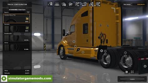 Tires And Rims Simulator Ats Custom Wheels Pack Simulator Mods