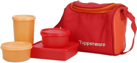 Tupperware Square Away Tumbler Biru flipkart tupperware best 4 containers lunch box lunch box