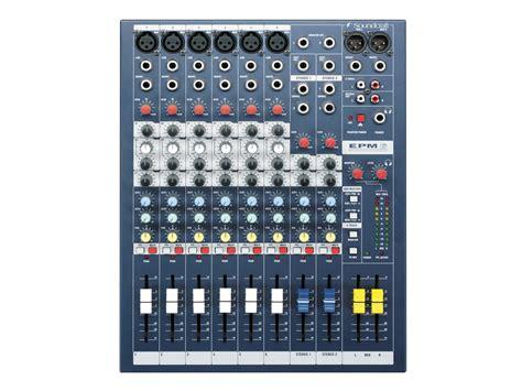 Mixer Soundcraft Efx 16 New Original epm6 soundcraft professional audio mixers