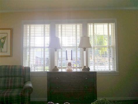 triple window curtains window treatment idea