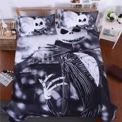 Nightmare Before Christmas Twin Bedding Bedding Nightmare Before Christmas Cool Bed Linen Printed