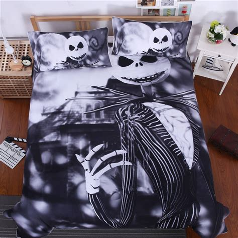 bedding nightmare before christmas cool bed linen printed