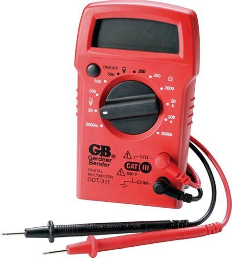 Gardner Bender Gdt 311 3 Function Digital Multimeter 500
