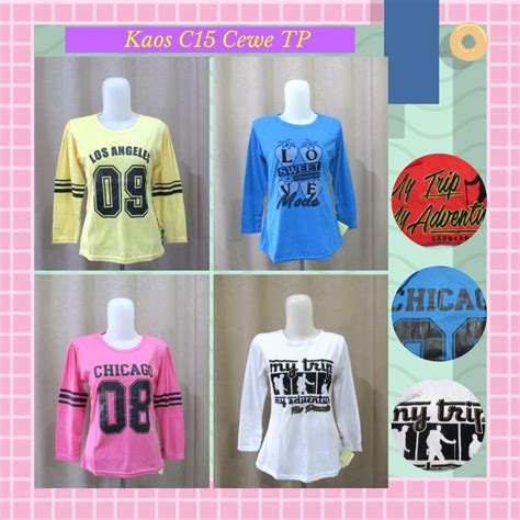 S9107 Baju Anak Branded Kaos Lengan Panjang C Kode Yt9107 2 pusat grosir kaos c15 cewe lengan panjang murah tanah abang 12ribu