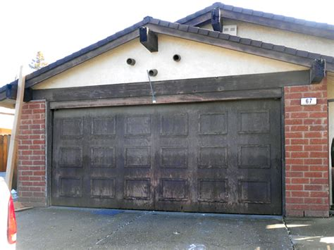 Garage Doors In Sacramento by Change Wood Garage Door To Roll Up Door Roseville