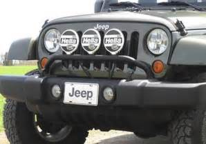 Jeep Stock Bumper Mopar Oem Jeep Wrangler Front Bumper Light Bar