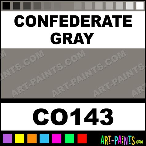 confederate gray bisque ceramic porcelain paints co143