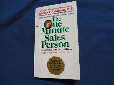 one minute salesperson the one minute sales person by spencer johnson and larry wilson book review online mlm community