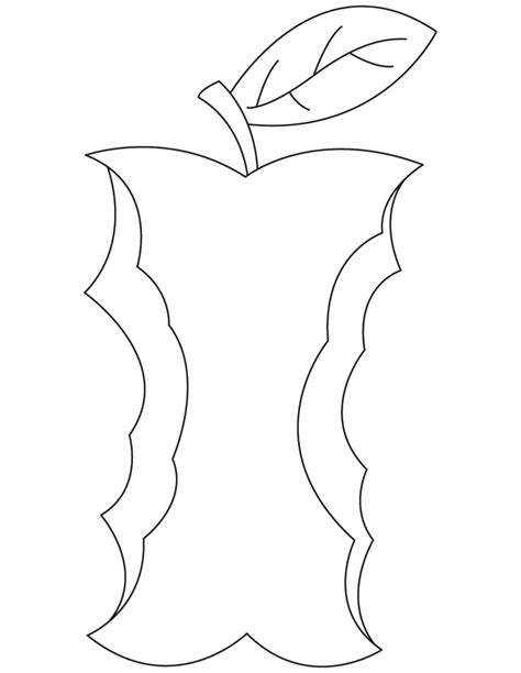 coloring pages of apples with worms free coloring pages of apple with worm