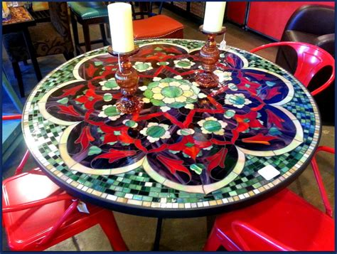 Mosaic Patio Table by 1000 Images About Mosaics On Mosaic Tables