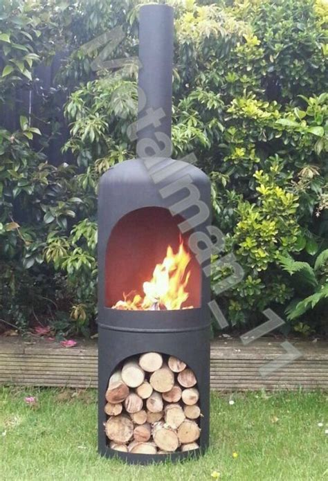 chiminea in shed the 25 best gas bottle wood burner ideas on