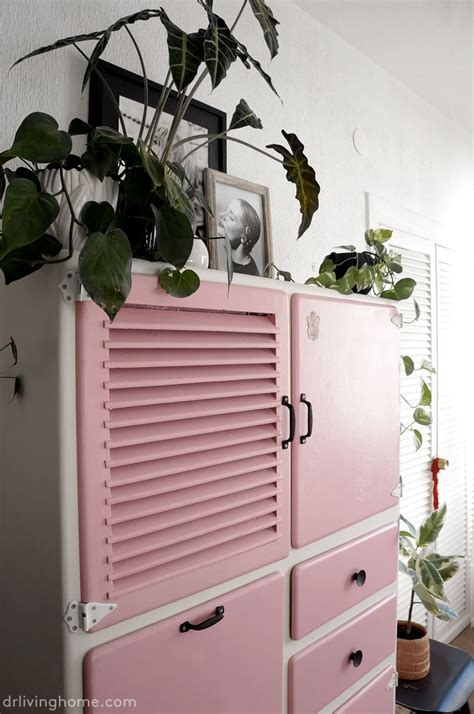 fun vintage kitchen cupboard makeover dr livinghome decor