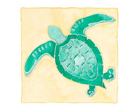 sea turtle decor sea turtle wall sea