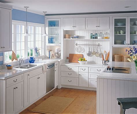 kitchen cabinets shaker style white painted maple cabinets in a casual kitchen kemper