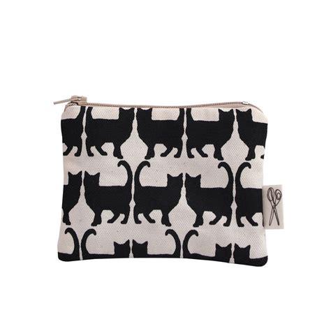 cat printed coin purse coin purse cat print by megan
