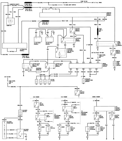 diesel engine wiring diagram images