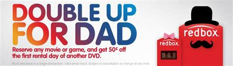 s day redbox redbox father s day promotion mojosavings