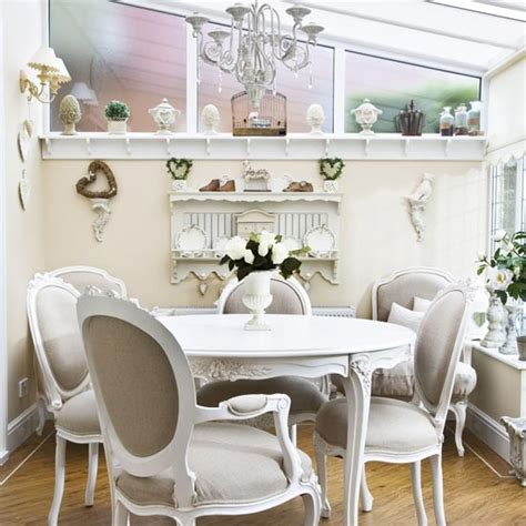 Shabby Chic Esszimmer Sets by Conservatory Dining Room Dining Room Extension Ideas