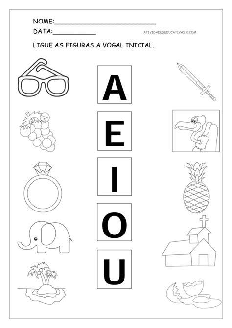 atividades para imprimir atividade as vogais para imprimir atividades educativas