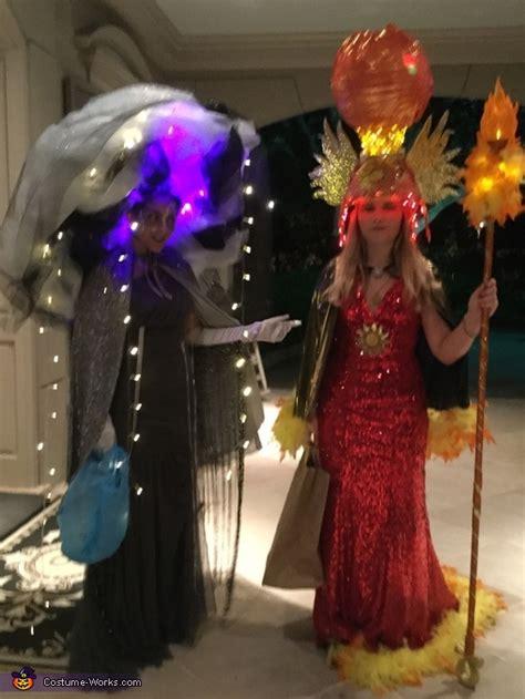 sun goddess  storm goddess costume