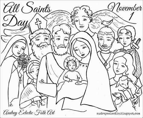 all saints coloring pages az coloring pages