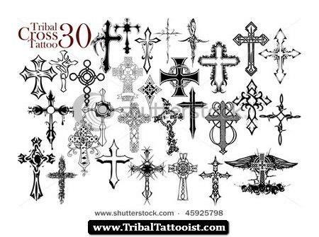 tribal cross tattoos for men tribal cross designs 02 jpg 450 215 335 mens