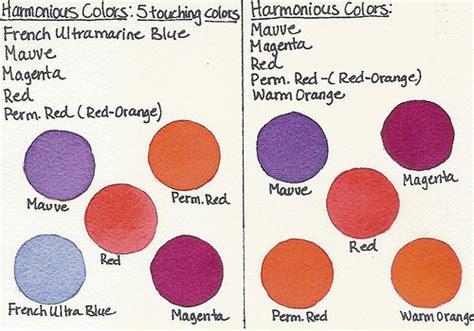 harmonious colors harmonious color chart flickr photo