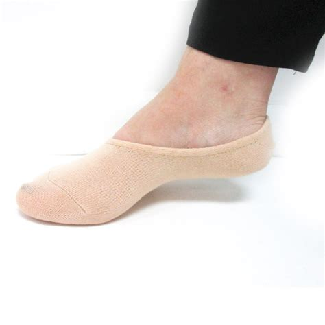 flat shoes socks 3 pairs womens foot covers footies dress flat shoes soft