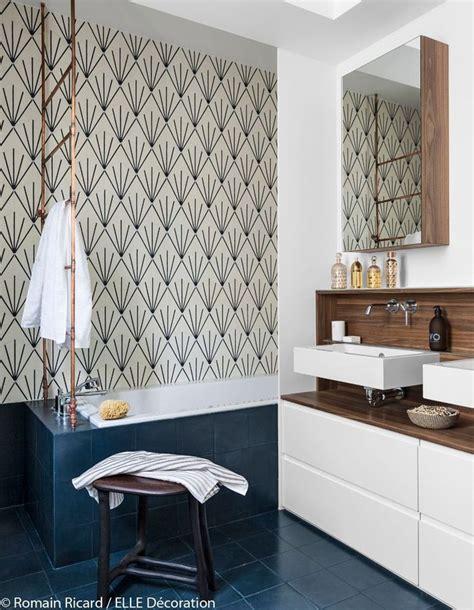 decoration maison salle de bain un grand appartement pile dans l air du temps