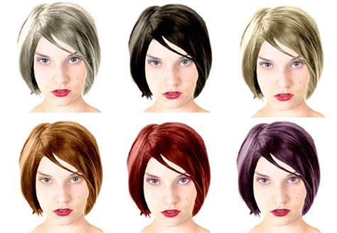 virtual hair colour changer change hair color online